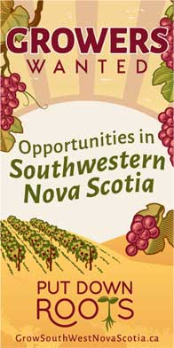 grows outh west nova scotia